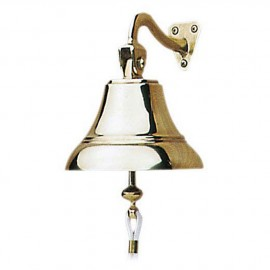 Cloche bronze poli - 100 mm