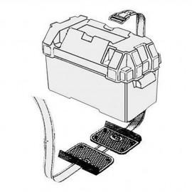 Kit de fixation pour bac à batterie - la paire