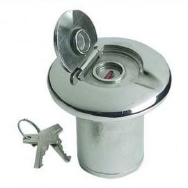 Nable de réservoir inox WASTE 38 mm - sans serrure