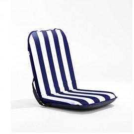 Coussin siège Comfort Seat - Bleu/Blanc - 100 x 49 x 8 cm