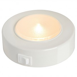 Spot LED Batysystem Sun en ABS blanc - 2.4 W - 12 LED