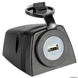 Prise USB + carénage pour fixation sur plan