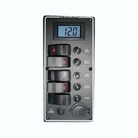 Tableau électrique série PCAL avec voltmètre numérique 9/32V