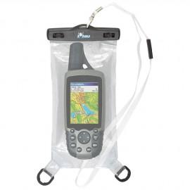 Etui blanc étanche et flottant pour GPS / PDA / téléphone - 21.5 x 10.5 cm
