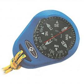 Compas bleu et boitier - bague fixe - 1''7/8