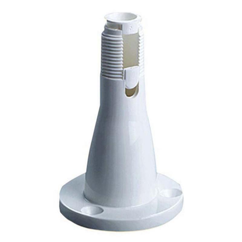 Embase d'antenne VHF nylon - fixe plat pont