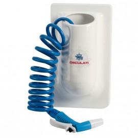 Conteneur vertical avec tuyau eau en spirale 4,5 m