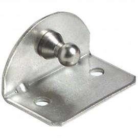 Plaque 90° rotule 10mm