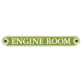 Plaque bronze ''Engine Room''