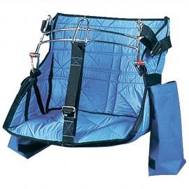 Chaise de mât professionnelle en nylon matelassé avec armature inox