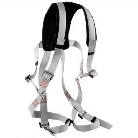 Harnais de sécurité et chaise de mât avec bande pour cuisses ou épaules