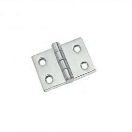 Charnière inox 5 mm - 50x50 mm