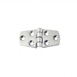 Charnière inox 5 mm - 38x74 mm