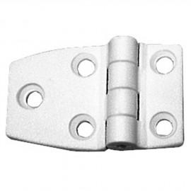 Charnière nylon 54x38mm blanc