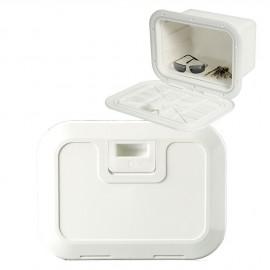 Boite à encastrer 380x280mm porte push-pull blanc