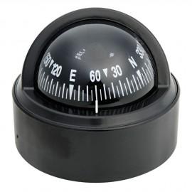 Compas Stella noir avec habitacle