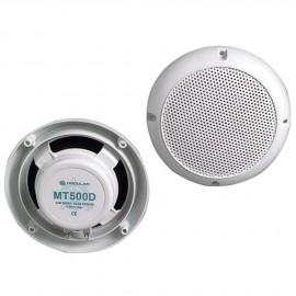 Kit deux haut-parleurs blanc 60W - la paire