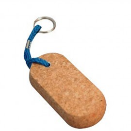 Porte-clés liège ovale