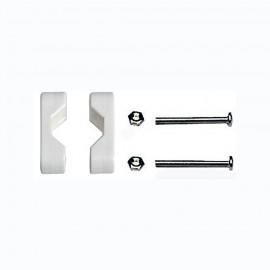 Etrier de fixation plastique pour tube ø20 à 25 mm