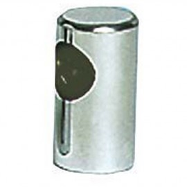 Embout main-courante plot inox ø22mm - élément terminal