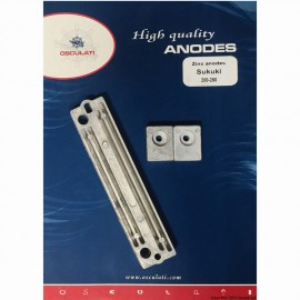 Kit anode Suzuki 200/250 HP zinc