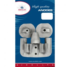 Kit anodes Yanmar Z-drives magnesium