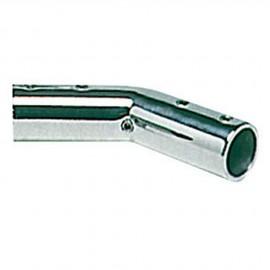 Coude inox 140° - 22 mm