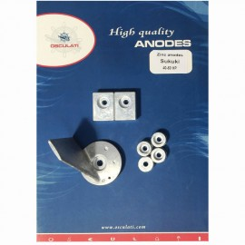 Kit anode Suzuki 40/50 HP zinc