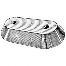 Anode plaque zinc  hors bord & Honda