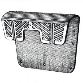 Protège tableau PVC 40x28cm