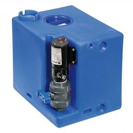 Centrale réservoir eaux noires - broyeur vertical 56 litres - 12V