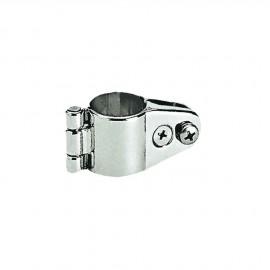 Support inox pour bras de taud pour tube 20-22-25 mm