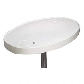 Plateau de table en ABS ovale
