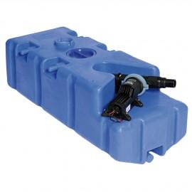 Réservoir des eaux usées 100l, avec broyeur 12V
