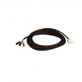 Câble de rallonge 4m. avec connecteurs mâle/femelle. pour 50.204.60