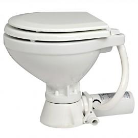 WC electrique Super compact Siège bois