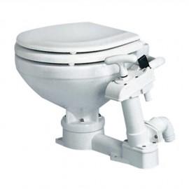 WC manuel - lunette large plastique