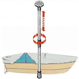 Support télescopique pour bâches 75 à 120cm