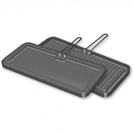 Plaque de cuisson rectangulaire 28x43 cm