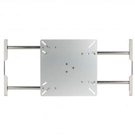 Coulisseaux pour tables à rallonge 2ème côté