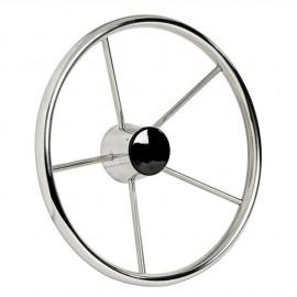Barre à roue - 5 branches inox poli miroir - Ø 320 mm