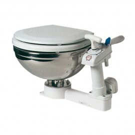 WC manuel - cuvette inox