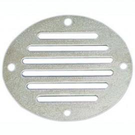 Prise d'air circulaire en inox Ø83 mm