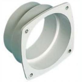 Collier raccord Ø70/80 mm pour grille d'aération 85x85mm