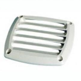 Grille d'aération ABS blanche 85x85 mm