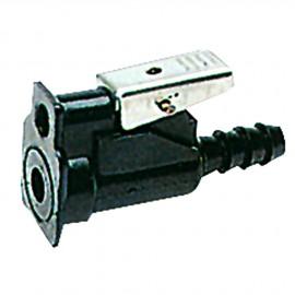 Raccord femelle côté moteur ou réservoir JOHNSON - EVINRUDE - SUZUKI - Ø 10 mm