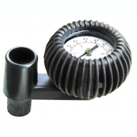 Manomètre pour pneumatiques Fond haute pression - 1 bar