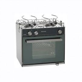 Cuisinière à gaz SMEV Sunlight, version slim compacte