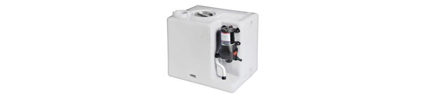 Centrale réservoir eau douce