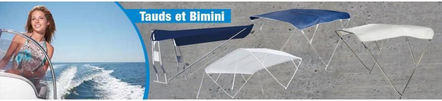 Tauds & Bimini pour Bateaux en Inox, PVC, Alu - Protection contre le Soleil